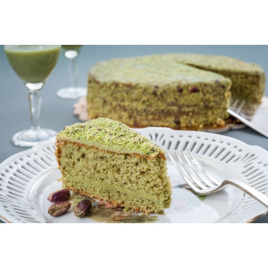Torta al Pistacchio Traditional Bronte Sweets